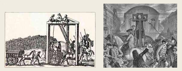 Tyburn and pillory