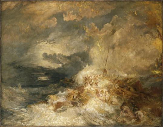 A Disaster at Sea ?c.1835 by Joseph Mallord William Turner 1775-1851